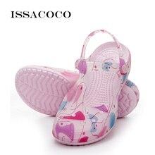 ISSACOCO Slippers Shoes Woman Somen Sandals Wedges For Women Summer Sandalias Terlik Pantufa Sandalia Feminina 2018