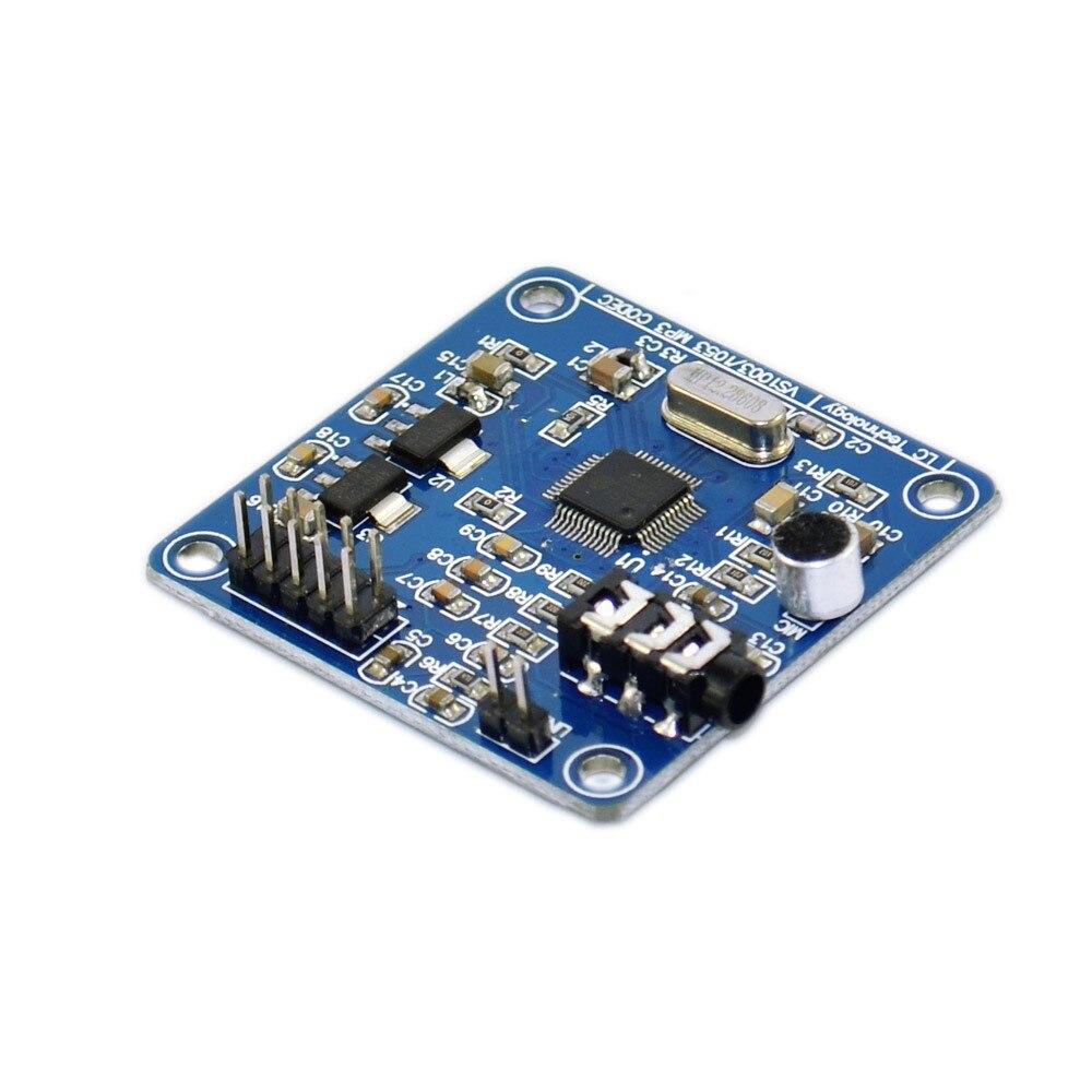 VS1003B VS1053 MP3 Module Development Board Onboard recording function STM32 microcontroller development board VS1003B VS1053 MP3 Module Development Board Onboard recording function STM32 microcontroller development board