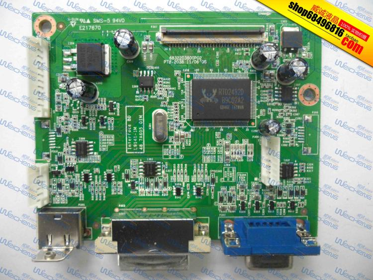 Free shipping  P216HL logic board PTB - 2038 6832203800 p02 LED driver board jacques lemans jacques lemans 1 1654h