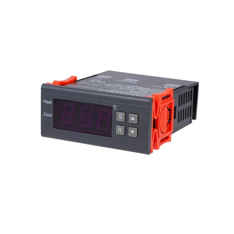 MH1210A Mini-Digital-LED-Thermostat-Temperaturregler mit Sensorsonde DC12V Temperaturregler Temperaturregler