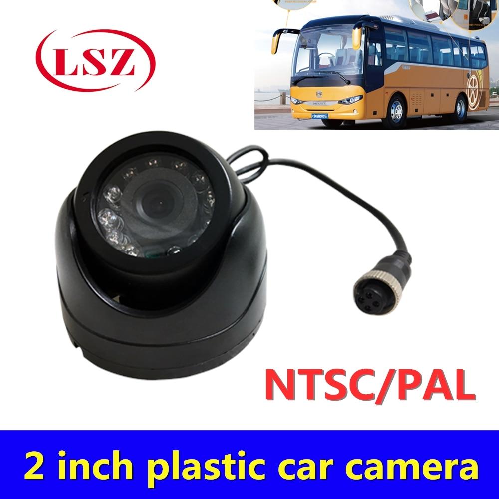 Semitrailer Taxi Truck General 2 Inch Hemisphere Camera Probe 960P HD Pixels 1 10 Meter IR