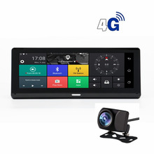 hot deal buy carrvas gps dvr for car 7.84 inch android 5.0 dvr navigator with mp3/mp4 players bluetooth g-sensor hd 7.84