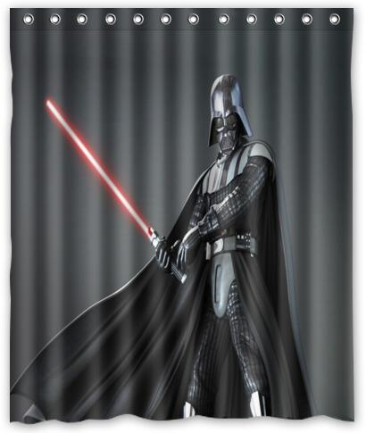 Custom Lego Movie Shower Curtain Star Wars Curtains Marvel Comics Darth Vader Bath Waterproof Christmas