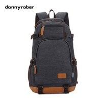 2017 New Fashion Large Capacity Rucksack Men S Canvas Backpack Multi Function Travel Men S Laptop