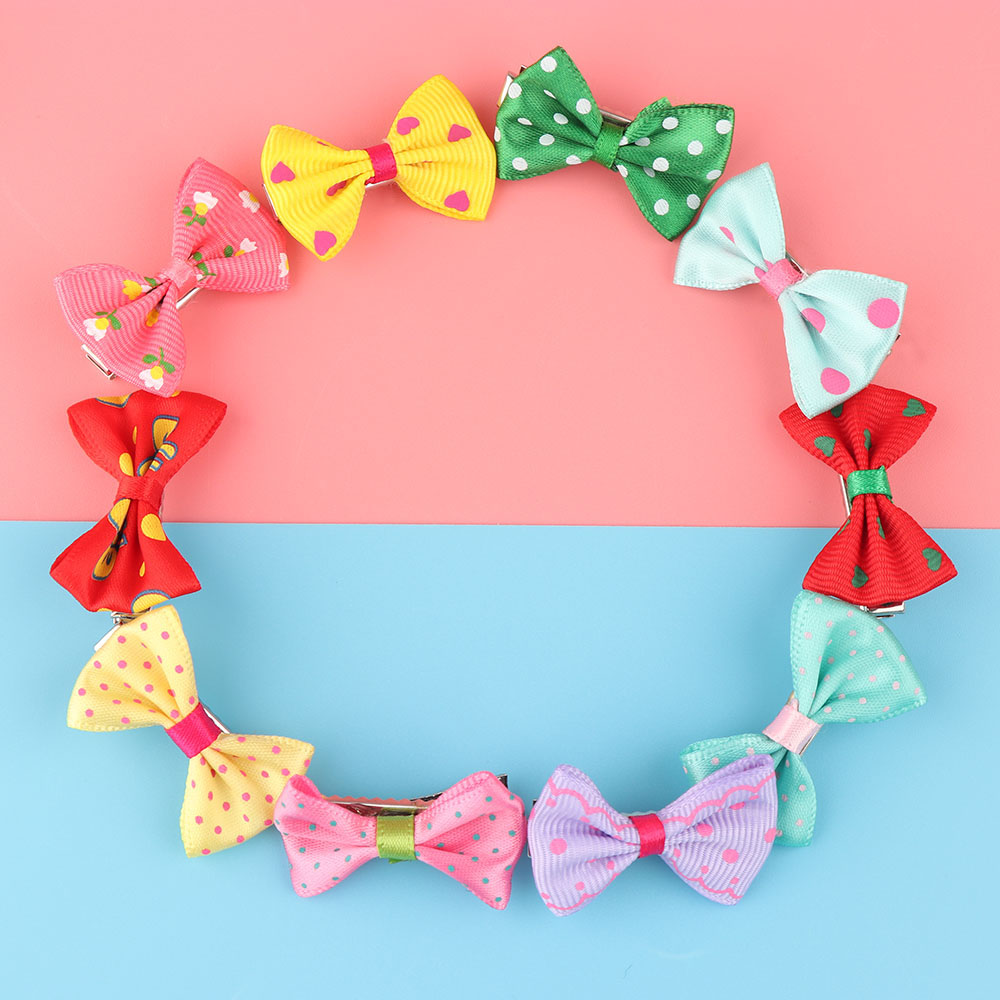 HTB1S.zIRVXXXXXgapXXq6xXFXXXo 12-Pieces Mix Colorful Fruit Flower Star Animal Fish Ribbon Heart Candy Hair Accessories For Girls