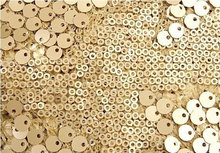 Gold Sequin Fabric Super Luxury Wedding Bridal Gown Dress Fabric Shower Lace Fabrics