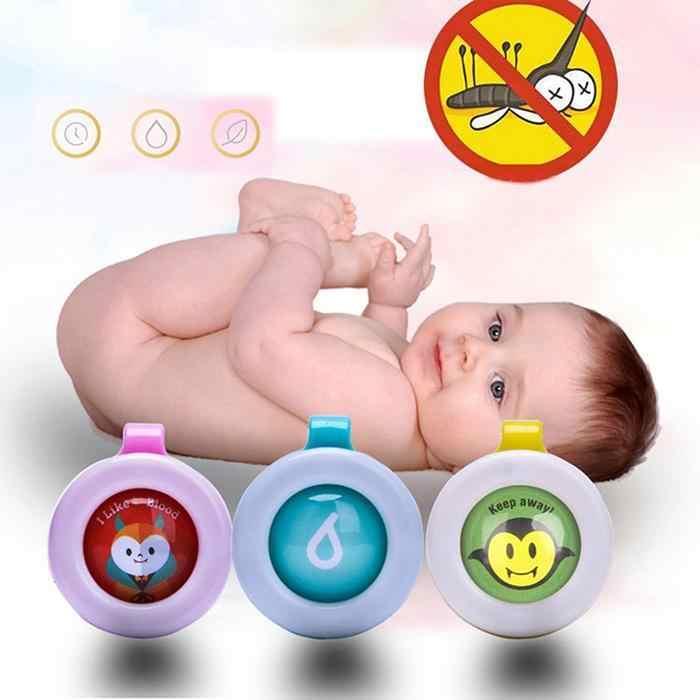 1/2/5/10 Buah Warna Acak Nyamuk Gelang Kancing Mini Ringan Bentuk Lucu Mengemudi Nyamuk bayi Anak Tidur