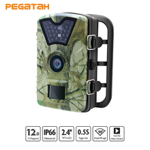 Hot 12MP images 1080P Wildlife Trail Cameras Infrared Hunting Trail Camera IP66 Motion Detection Outdoor Infrared Cameras