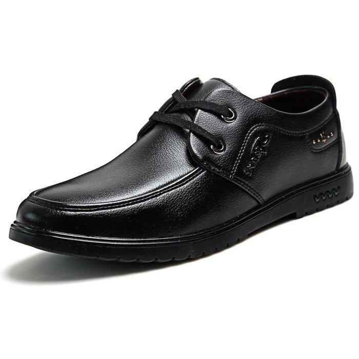 Hombres 2018 Zapatos Negocios Hombre Cuero Los Vestir De Moda ppwtPqRO