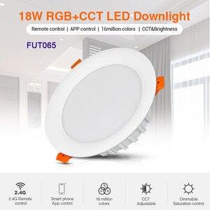 Image 5 - Miboxer 6W/9W/12W/15W/18W RGB+CCT led Downlight Dimmable Ceiling AC110V 220V FUT062/FUT063/FUT066/FUT068/FUT069/FUT089