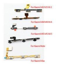 Power Button Volume Flex Cable For Xiaomi Mi5s M5s Plus Mi2 M2 Mi3 M3 Mi4 M4 Mi4i Mi4c Mi4s Mi5 M5 Mi Max Mi Note Pro