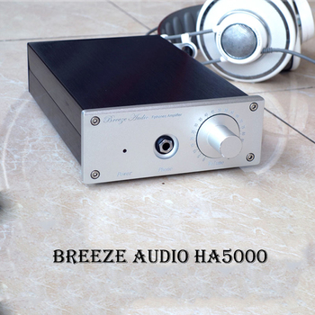 Breeze Audio HA5000 Pure Class A  Hi fi Headphone Amplifier Portable Professional Amplificador Stereo AMP Audio Amplifiers