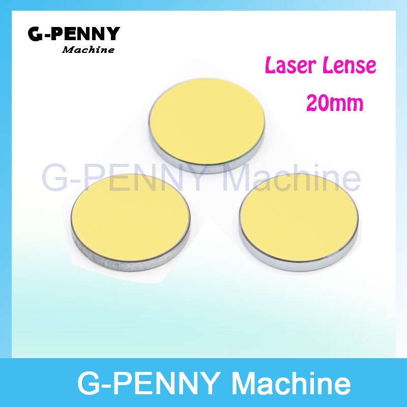 Free shipping!  CO2  Laser Focus Lenses Diameter 20mm Molybdenum lenses for laser Engraving Cutting Machine free shipping cn znse co2 laser focus lens diameter 18mm focal length 101 6mm for co2 laser cutting and engraving machine