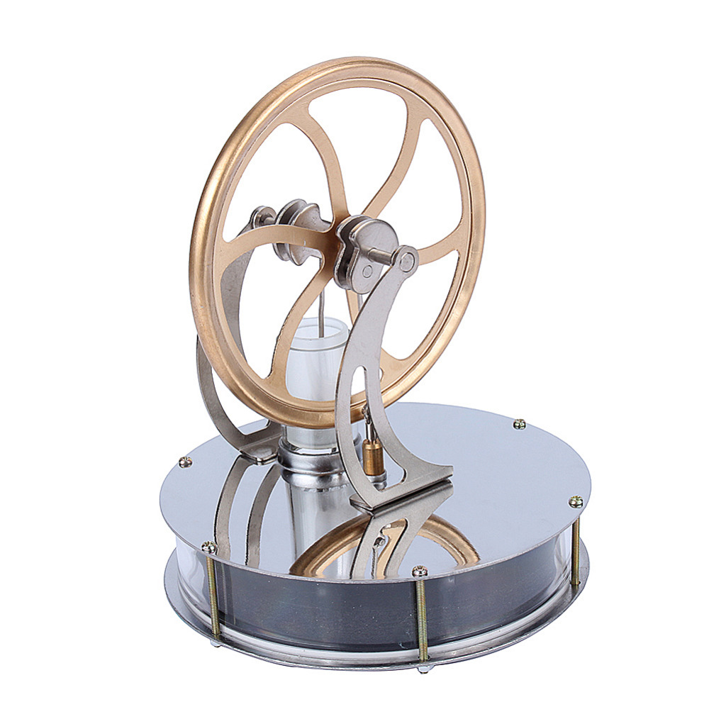 Image 5 - Low Temperature Stirling Engine Motor Steam Heat Education Model Heat Steam Education Toy  For Kids Craft Ornament Discoverygifts for kidsgift giftsgift toys -