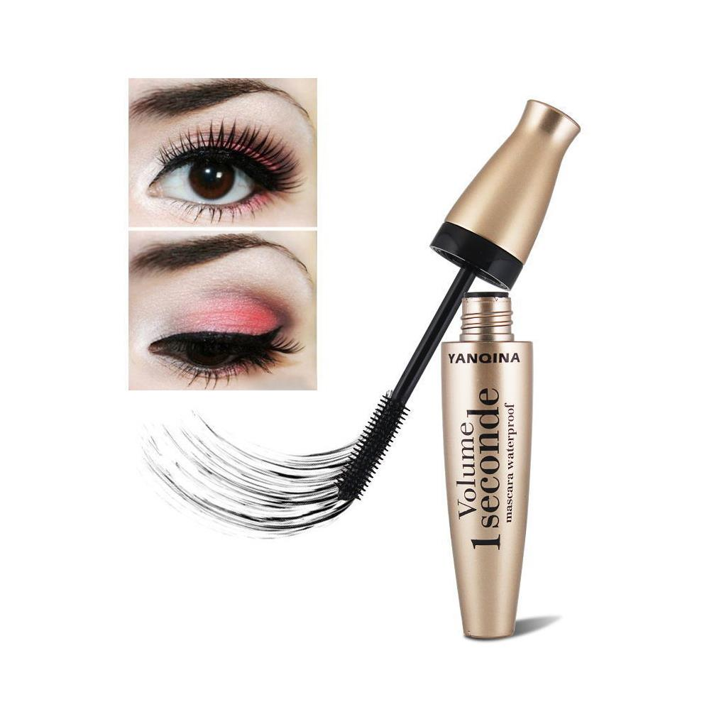 1pc Silicone Brush Mascara Stretch Thick Curling Waterproof Mascara Curling Eyelash Mascara Lashes Makeup Tool
