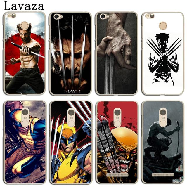the best attitude 23c6c 9fb87 US $1.99 22% OFF|Lavaza Wolverine Marvel Phone Cover Case for Xiaomi MI 9 8  SE A2 lite A1 MIX 2S Redmi 6A 4A S2 Note 7 4 4X 6 5 Pro 5A Prime-in ...