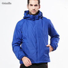 Grizzilla Ski Jacket Men Outdoor Winter Waterproof Windproof Snowboarding Breathable 3 in 1 Thermal Jackets 5 Colors