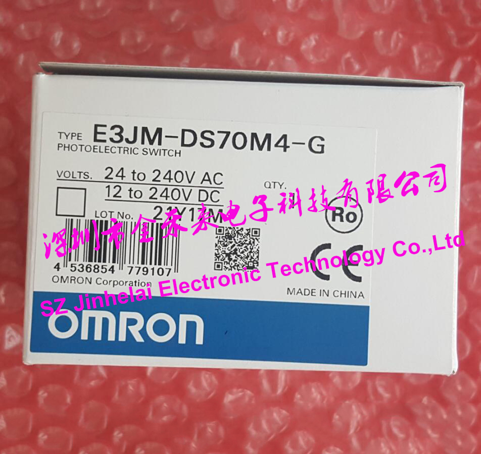 100% New and original E3JM-DS70M4-G OMRON Photoelectric switch Photoelectric sensor цена