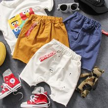 83f7fd9b68e only short pant 1pc new 2017 summer boys fashion middle pant boys summer  trousers jeans kids fashion cotton pant boys clothing