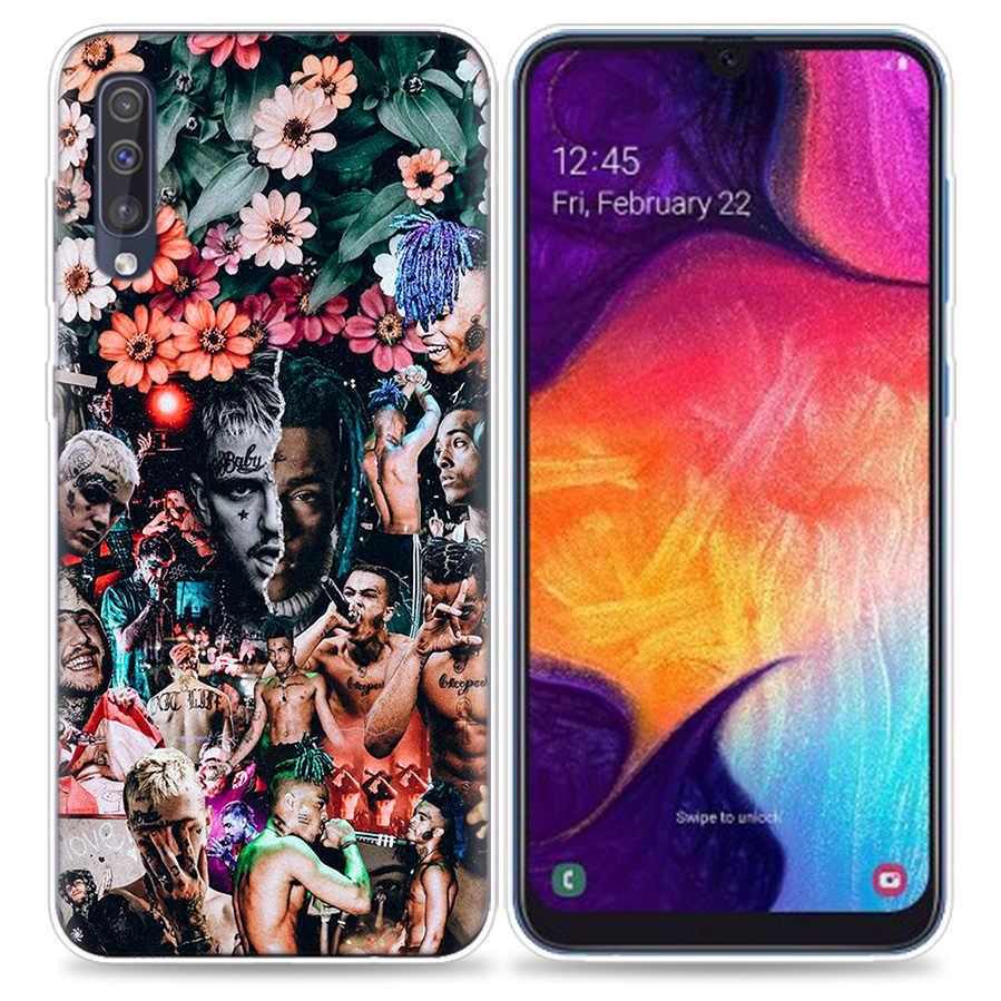 Bao Ốp Lưng dành cho Samsung Galaxy Samsung Galaxy Điện Thoại Di Động A50 A70 A30 A20 J4 J6 J8 A6 A8 M30 A7 Plus 2018 note 8 9 Lil Peep Coque J6Plus A6Plus