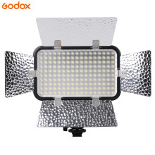 лучшая цена Godox Professional LED 170II Video Studio Light 5500-6500K for DSLR Camera Camcorder DV Macrophotography Lamp Photo Lighting