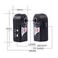 Mini Camara Wireless Wifi IP Q7 DV DVR Wireless Cam Brand New Video Camcorder Recorder Night Vision Espia Candid Nanny
