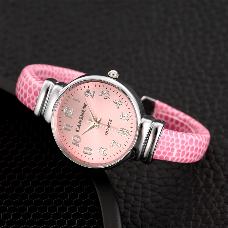Women Pink Bracelet Watches Quartz Ladies Sports Accessories Gift Fashion Watches Reloj Mujer 2019 New Fashion Jewelry Watches