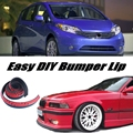 Bumper Lip Deflector Lips For Nissan Versa Note / Tone Front Spoiler Skirt For Car Tuning Veiw / Body Kit / Strip
