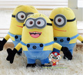 hot sale 3D eyes 30 cm Despicable Me Minion Soft Plush Toy Free Shipping