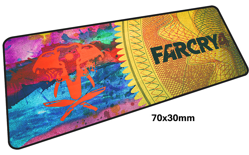 far cry mousepad gamer 700x300X3MM gaming mouse pad large High quality notebook pc accessories laptop padmouse ergonomic mat
