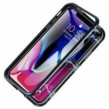Магнитное притяжение мобильных чехлов из закаленного стекла для Apple Iphone 8 8 plus 7 6 Plus XS Max XR X задняя крышка телефона