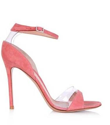 ФОТО Pink grey peep suede toe high thin heel front and back transparent side buckle strap pumps for woman in summer high quality