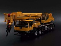 Rare 1:50 Scale Liugong CLG TC750C5 Mobile Heavy Crane Engineering Machinery Diecast Model Toy for Decoration Collection