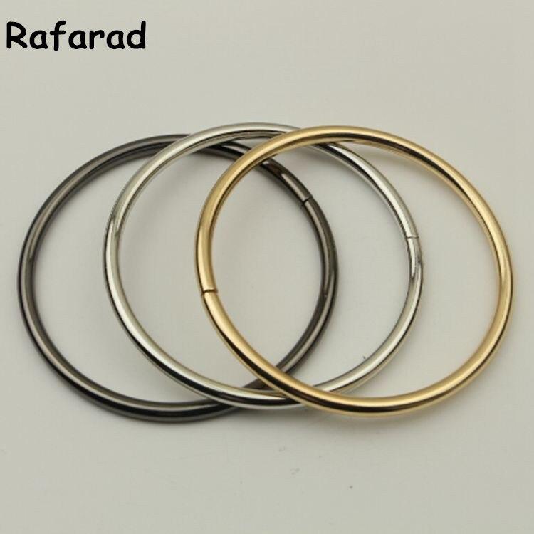 10 Pcs Size 3 ( 75 mm) Metal Rings For Handbag Accessories Online Shop China DIY Fashion Obag Handle Metal Purse Frame Handle