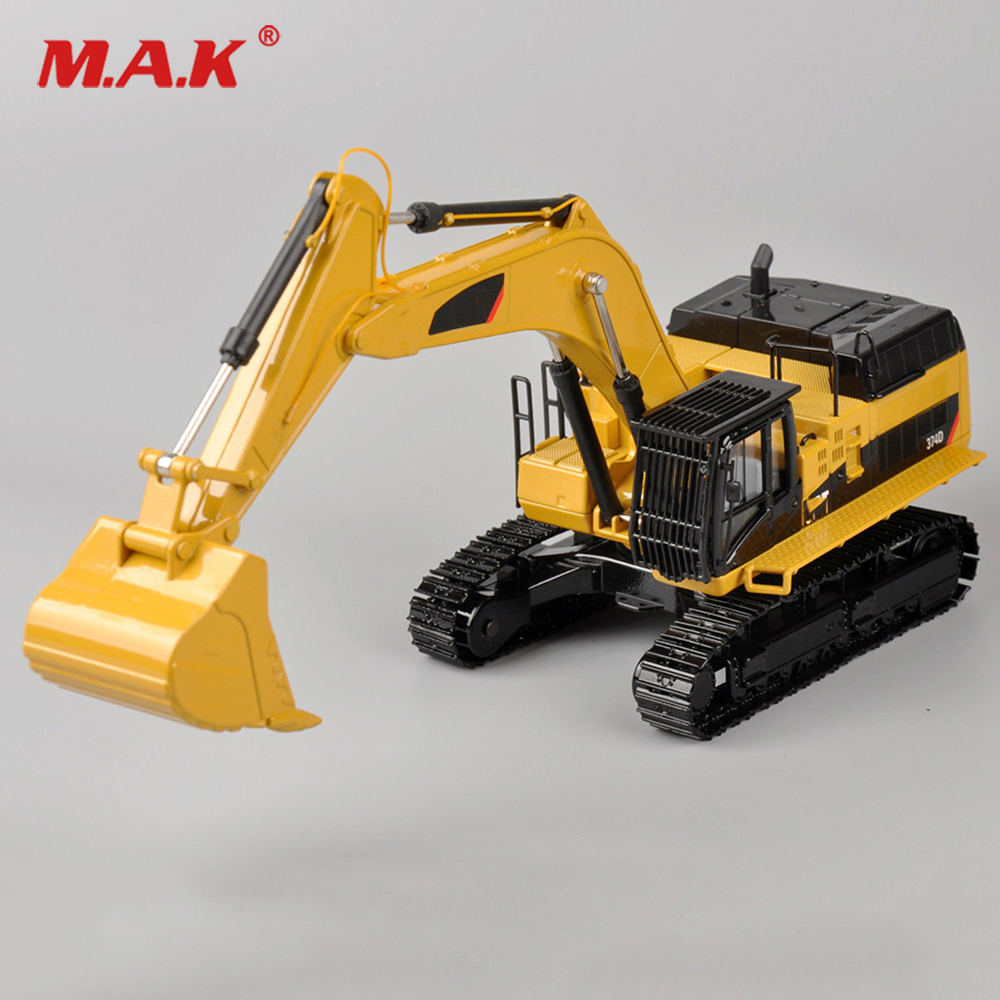 цена Collection Diecast 1/50 Scale Type Pile Engine 374D Hydraulic Diecast Excavator 55274 Model Engineering vehicle Diecast Model