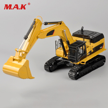 Collection Diecast 1/50 Scale Type Pile Engine 374D Hydraulic Diecast Excavator 55274 Model Engineering vehicle Diecast Model caterpillar cat m316d wheel excavator 1 50 model by diecast masters 85171
