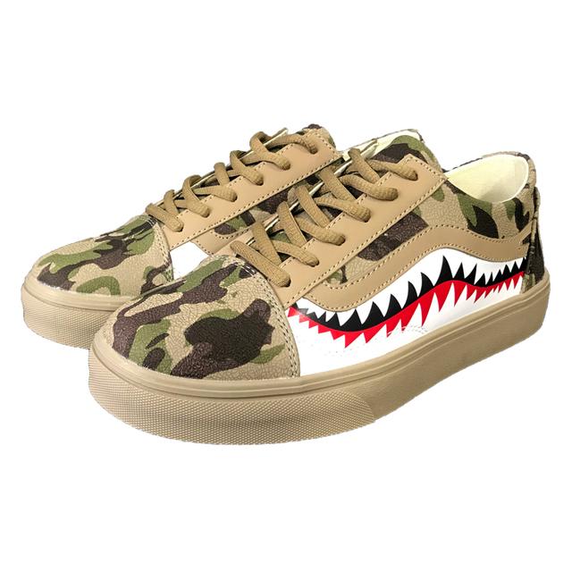Shark Camo Sneakers