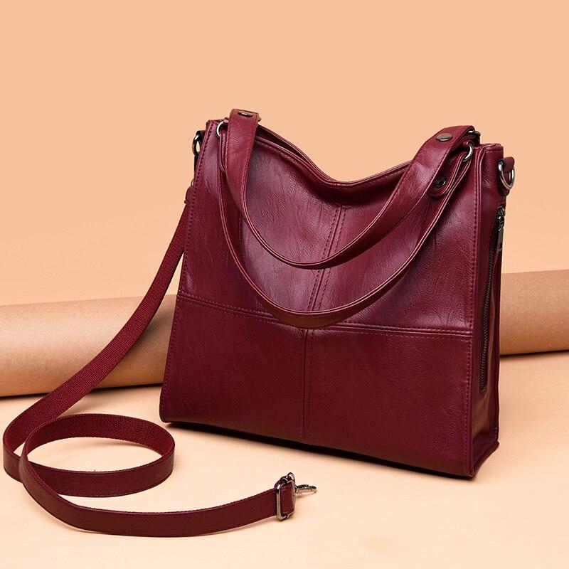 Designer Elaborazione Di purple red blue Big Portatile Bag Borsa Fashion Donne Borsoni Femminile In Dell'unità Ufficio Pelle Signore Borse Marca Delle Black A Tracolla dIBq8xg