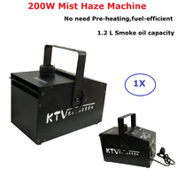 200W Mist Haze Machine 1.2L Fog Machine DMX512 Stage Smoke Machine Professional Dj Bar Party Shows Lights Equipments LED Fogger