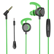 PC Gaming Headset in-ear earphone with Mic Stereo Earphones Deep Bass for PC Computer Gamer Laptop PS4 Wired PC Stereo Earphones elivebuy usb wired stereo pc gamer headphone with mic casque audio volume control 2 m computer gaming headset for ps3 ps4 pc
