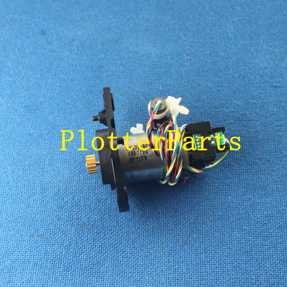 CQ105-67001 Q1271-60451 Rewinder gear and motor assembly for HP DesignJet T7100 plotter parts Original NEW image