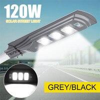 New Super Bright 120W 144LED Solar Lamp Wall Street Light Motion Sensor Waterproof Security Lamp Solar Lamp for Garden Yard