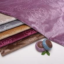 New sofa fabric gold velvet cloth soft European flower pillow tablecloth background