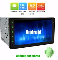 Wireless Camera 7 Capactive Touchscreen Android 4 2 GPS Car PC NO DVD MP3 Player 2din
