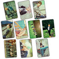 Kpop BTS Bangtan niños BTS 2016 2016 álbum mamma lente adhesiva 10 k-pop cartel fotos LOMO postales regalo la tarjeta fotográfica