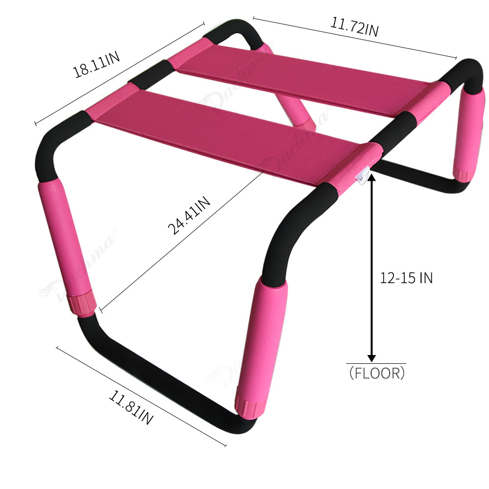 Weightless BDSM Elastic Sex Chair for Sex Furniture Multifunction Adujustable Chair Adult Toys for Couples Erotic Toys for Sex sex furnitures interesting weightless steel sex chair stool elastic sex stool sex toys for couples