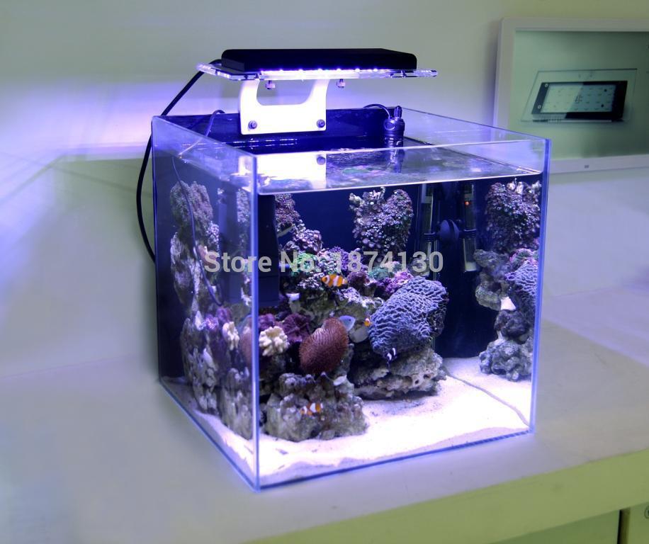Zetlight ZA 1201L za1201 za1201wifi led 가벼운 산호 성장 해양 암초 탱크 화이트 블루 수족관 물고기 탱크 sps lps 색상 성장-에서조명부터 홈 & 가든 의  그룹 2