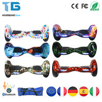 Self Balancing Scooter Adult Electric Skateboard Hoverboard 10 Inch 36v Lithium Battery 10 Inch Solid Tyre