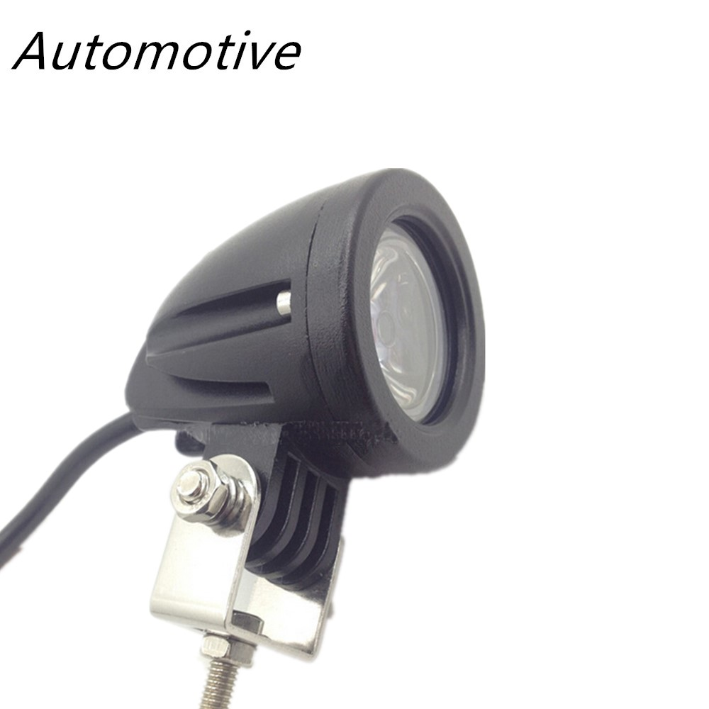 1Pcs 10W Flood beam Moto Car LED Work Light Indicators Motorcycle Driving Offroad Boat Tractor Truck 4x4 SUV ATV 12V DC Fog Lamp 2pcs 6 inch 18w led work light for indicators motorcycle driving offroad boat car tractor truck 4x4 suv atv spot flood 12v