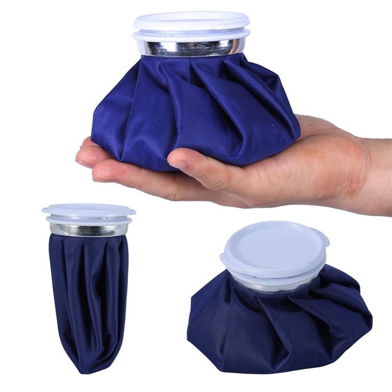 8 stks/partij Herbruikbare Koeltassen Sport Hoofd Been Letsel Ice Koude Zak voor Verwondingen Pijnbestrijding Ehbo Hot Water pack 6/9/11 inch